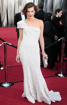 Mila Jovovich Elie Saab