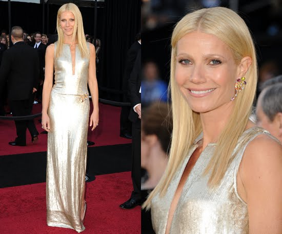 Gwyneth Paltrow in Calvin Klein