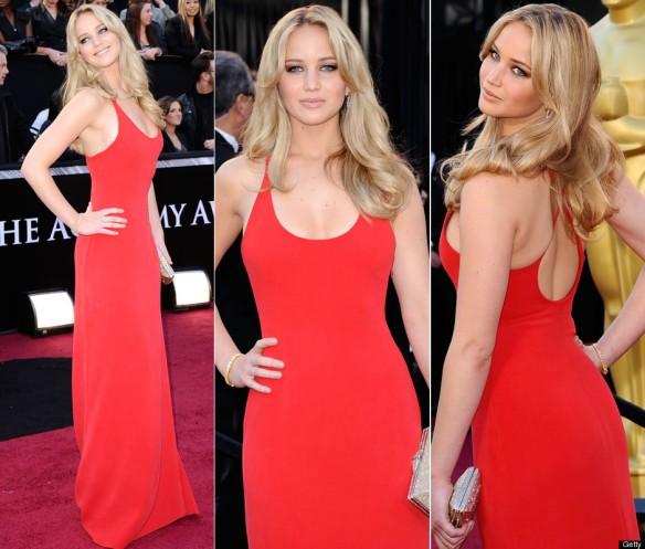 Jennifer Lawrence in Calvin Klein