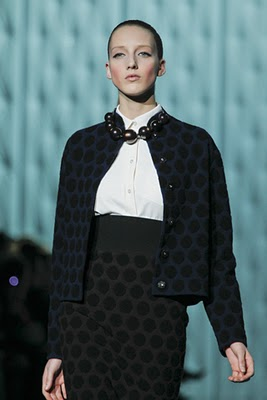 Marc Jacobs polka dot suit