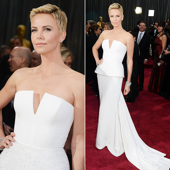 Charlize Theron Dior Haute  Couture